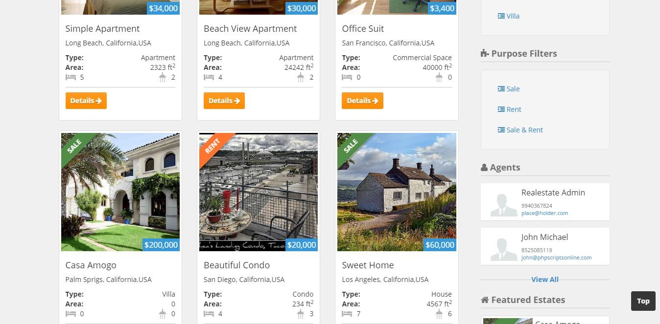 Open source Real Estate Script, PHP based Real Estate Script ...