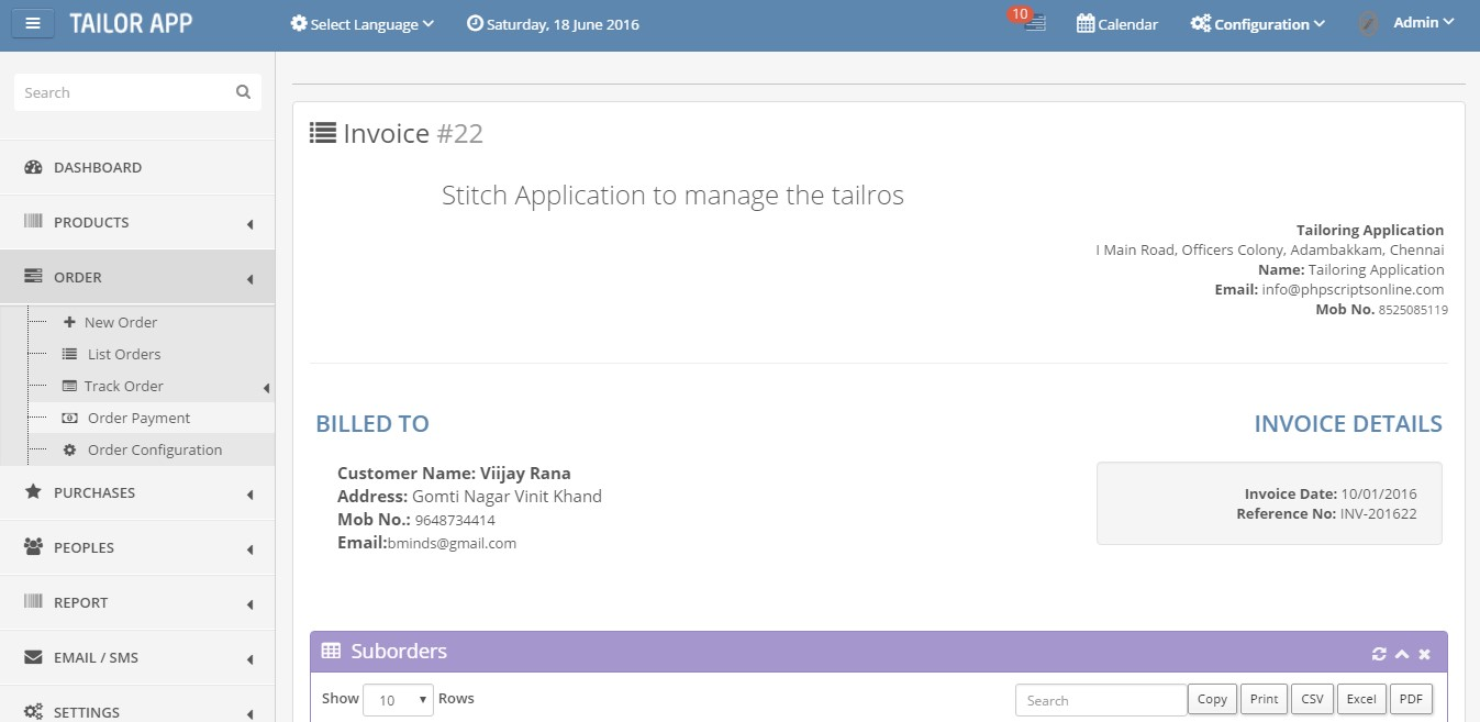 Download Tailor Software