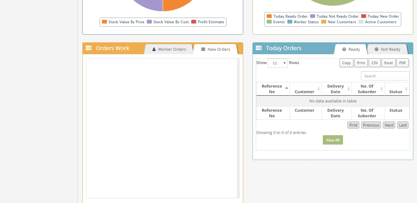 Tailor Management System Php Based Tailor Software Erp