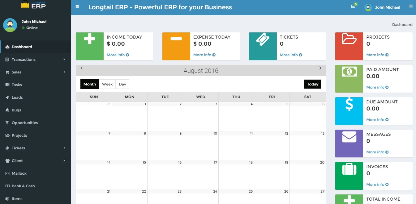 Business Accounting Management Script Custom ERP Solution Open - Php invoice script