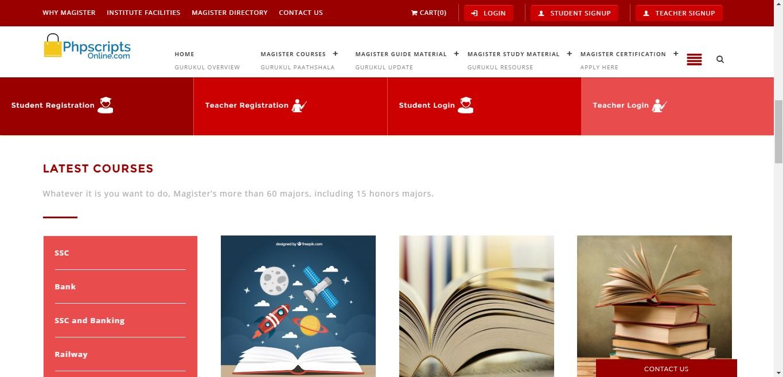 online course management system pdf