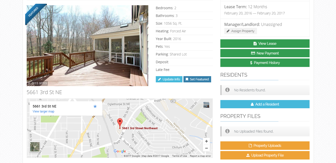 Php Based Property Management System Rental Management