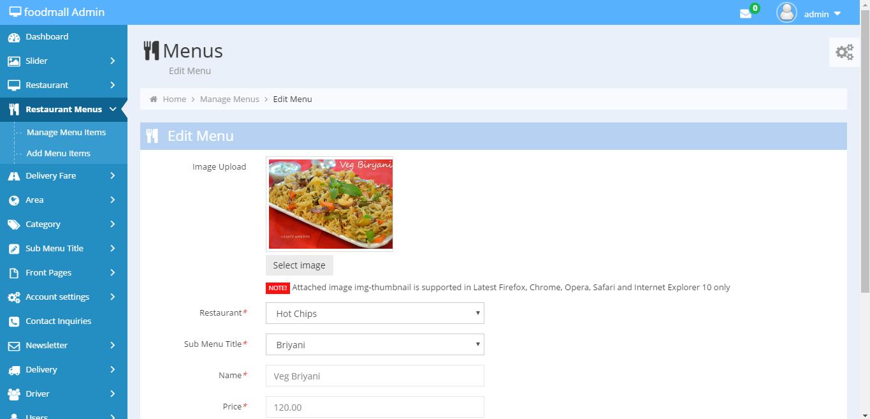Food Delivery Script Online Food Ordering Script