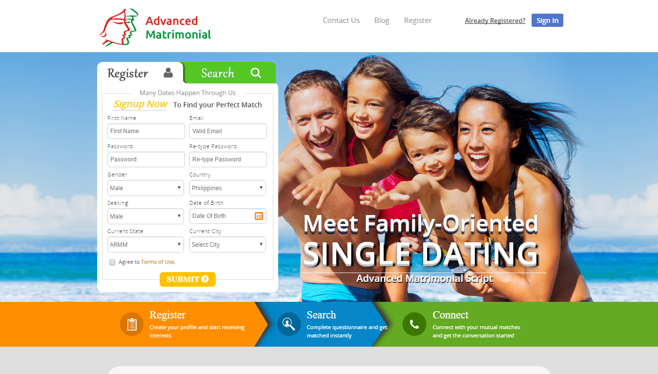 Dating-Website Codeigniter