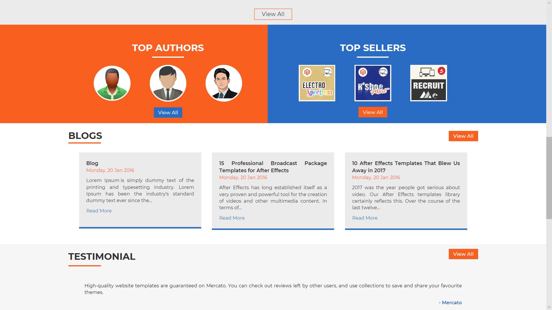 Envato Clone Digital Marketplace Script