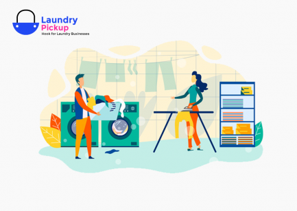 laundry pick and delivery script
