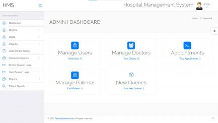 Free Hospital Management Script