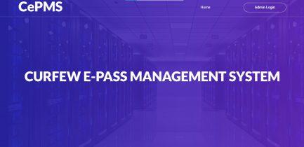 e-Pass Management Script