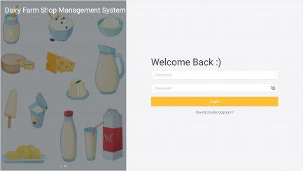 Dairy Shop Management Software