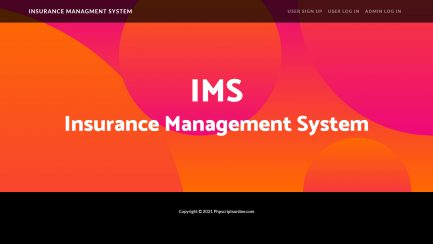 Free Insurance Policy Management Script