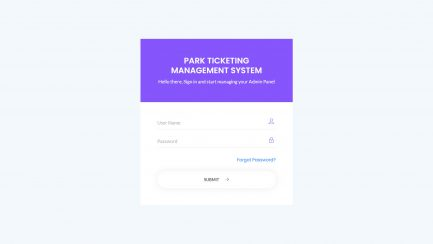 Park Ticketing Management Project