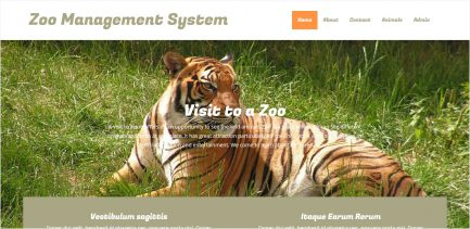 Zoo Management Software