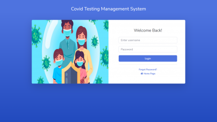 Covid-19 testing management system