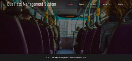 bus pass management software