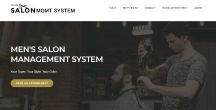 Men Salon Management Software